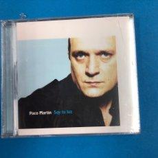 CDs de Música: CD PRECINTADO - PACO MARTIN - SOY TU LUZ. Lote 133657550