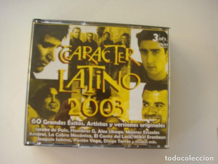 CARÁCTER LATINO 2003, 3 CDS MÁS UN DVD (Música - CD's Latina)