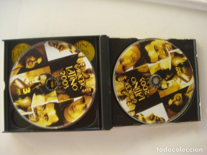 CDs de Música: Carácter latino 2003, 3 cds más un dvd - Foto 2 - 133660334
