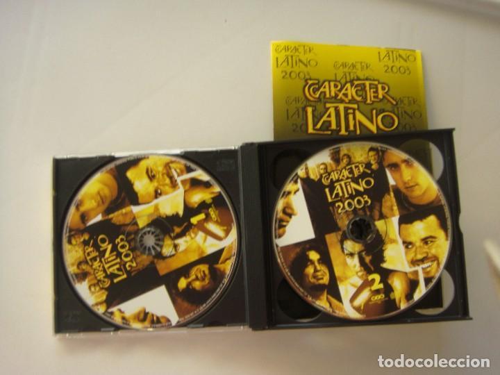 CDs de Música: Carácter latino 2003, 3 cds más un dvd - Foto 3 - 133660334