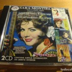 CDs de Música: RAR 2 CD'S. SARA MONTIEL. VOL. 2 (1959-1960). Lote 133665306