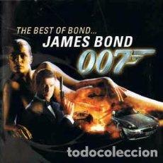 CDs de Musique: VARIOUS - THE BEST OF BOND ...JAMES BOND (CD, COMP, RM) LABEL:CAPITOL RECORDS, CAPITOL RECORDS, EMI. Lote 133676034