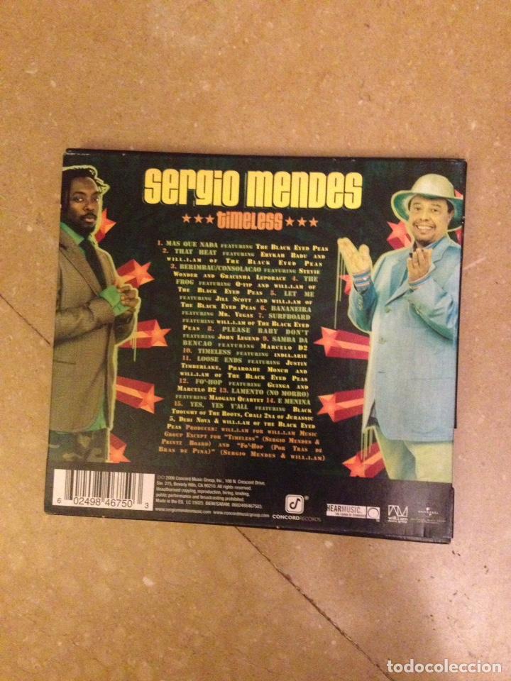 CDs de Música: Sergio Mendes. Timeless - Foto 3 - 133678801