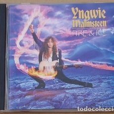 CDs de Música: YNGWIE MALMSTEEN - FIRE & ICE (CD) 1992 - 14 TEMAS. Lote 133679434