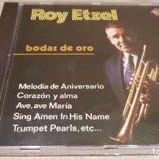 CDs de Música: ROY ETZEL / BODAS DE ORO / CD - PERFIL / 12 TEMAS / CALIDAD LUJO.. Lote 133695282
