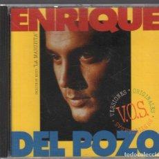 CDs de Música: ENRIQUE DEL POZO - LA MARUJITA VERSIONES ORIGINALES SUBTITULADAS CD ALBUM DE 1995 RF-1204. Lote 133698426