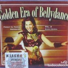 CDs de Música: GOLDEN ERA OF BELLYDANCE VOL2 SAMIA GAMAL / FERQAT AL TOORAS ORCHESTRA - CD DIGIPACK PRECINTADO. Lote 133720530