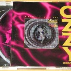 CDs de Música: OZZY OSBOURNE, LIVE & LOUD, CON DOS CD, DOBLE, ERCOM. Lote 133728902