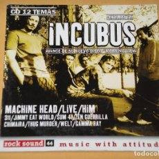 CDs de Música: ROCK SOUND , CD Nº 44, INCUBUS MACHINE HEAD HIM 311 SUM 41 ZEN GUERRILLA GAMMA RAY CHIMAIRA. Lote 133730246