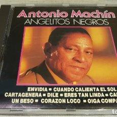 CDs de Música: ANTONIO MACHÍN / ANGELITOS NEGROS / CD - PERFIL / 14 TEMAS / CALIDAD LUJO.. Lote 133734386