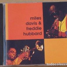 CDs de Música: MILES DAVIS & FREDDIE HUBBARD (CD) 1995 - 8 TEMAS. Lote 133751102