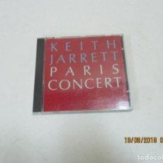 CDs de Música: CD KEITH JARRETT PARIS CONCERT. Lote 133754718