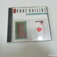 CDs de Música: CD SONNY ROLLINS. Lote 133756222