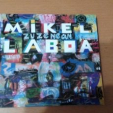 CDs de Música: MIKEL LABOA ZUZENEAN CD EN DIRECTO. Lote 133769526