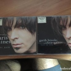 CDs de Música: GARTH BROOKS AS CHRIS GAINES (RIGHT NOW / LOST IN YOU) LOTE 2 CD (CDI19). Lote 133771450