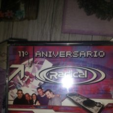CDs de Música: RADICAL 11 ANIVERSARIO TECHNO DANCE HARDCORE BAKALAO. Lote 133777406