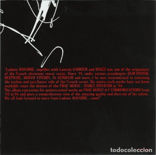 CDs de Música: Ludovic Navarre AKA St Germain – From Detroit To St Germain (EU, 1999) - Foto 2 - 133777822
