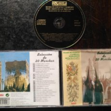 CDs de Música: CD SEMANA SANTA DE SEVILLA - BANDA DE CORNETAS Y TAMBORES CRISTO 3 CAIDAS ESPERANZA TRIANA 20 MARCHA. Lote 150082492