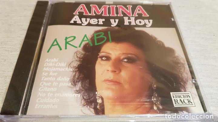AMINA / AYER Y HOY / ARABI / CD - PERFIL / 10 TEMAS / PRECINTADO. (Música - CD's Flamenco, Canción española y Cuplé)