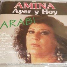 CDs de Música: AMINA / AYER Y HOY / ARABI / CD - PERFIL / 10 TEMAS / PRECINTADO.. Lote 133807146