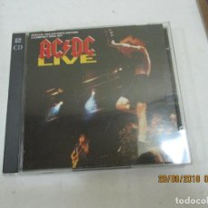 CDs de Música: ACDC LIVE SPECIAL COLLECTOR,S DOS CDS. Lote 133807750