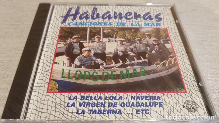 LLOPS DE MAR / HABANERAS / CANCIONES DE LA MAR / CD - PERFIL - 9 TEMAS / PRECINTADO. (Música - CD's Country y Folk)