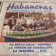 CDs de Música: LLOPS DE MAR / HABANERAS / CANCIONES DE LA MAR / CD - PERFIL - 9 TEMAS / PRECINTADO.. Lote 133808290