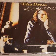 CDs de Música: ELSA BAEZA / MIS MOMENTOS FELICES / CD - PERFIL / 9 TEMAS / PRECINTADO.. Lote 133808850