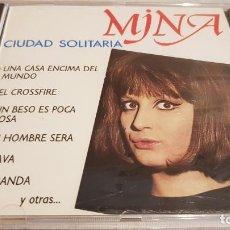 CDs de Música: MINA / CIUDAD SOLITARIA / CD - PERFIL - 1991 / 12 TEMAS / PRECINTADO / DIFÍCIL.. Lote 133809278