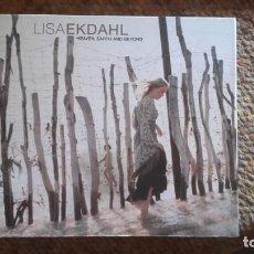 CDs de Música: LISA EKDAHL , HEAVEN , EARTH AND BEYOND , CD DIGIPACK VER FOTOS. Lote 133809282