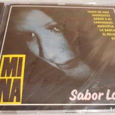 CDs de Música: MINA / SABOR LATINO / CD - PERFIL - 1991 / 12 TEMAS / PRECINTADO.. Lote 133809666