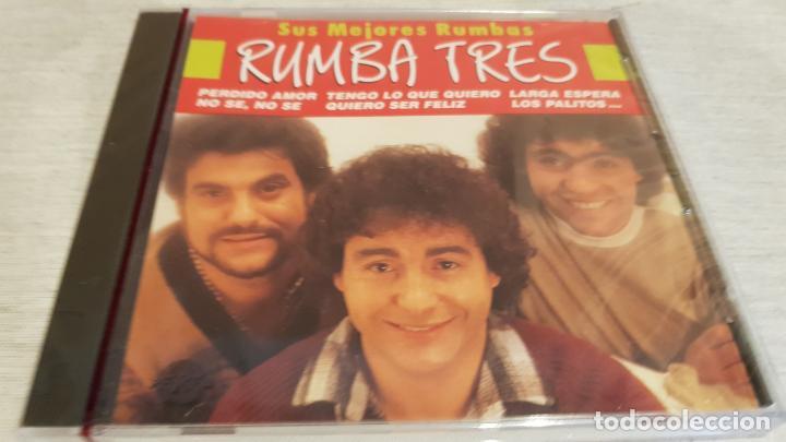RUMBA TRES / SUS MEJORES RUMBAS / CD - PERFIL / 20 TEMAS / PRECINTADO. (Música - CD's Flamenco, Canción española y Cuplé)