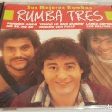 CDs de Música: RUMBA TRES / SUS MEJORES RUMBAS / CD - PERFIL / 20 TEMAS / PRECINTADO.. Lote 133813434