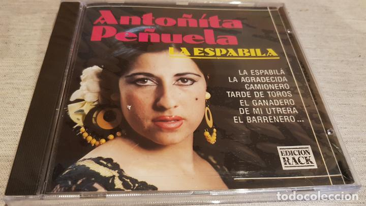 ANTOÑITA PEÑUELA / LA ESPABILÁ / CD - PERFIL / 10 TEMAS / PRECINTADO. (Música - CD's Flamenco, Canción española y Cuplé)