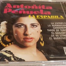 CDs de Música: ANTOÑITA PEÑUELA / LA ESPABILÁ / CD - PERFIL / 10 TEMAS / PRECINTADO.. Lote 133813970