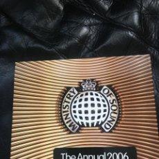 CDs de Música: MINISTRY OF SOUND ANNUAL 2006. Lote 133814446