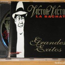 CDs de Música: VICTOR VICTOR, LA BACHATA, GRANDES ÉXITOS, CD, ERCOM. Lote 133818546