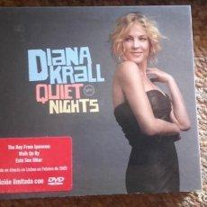 CDs de Música: DIANA KRALL , QUIET NIGHTS , CD+DVD DIRECTO LISBOA .. Lote 133822098