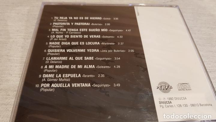CDs de Música: EL CANTE GITANO DEL CHOCOLATE / CD - PERFIL / 10 TEMAS / PRECINTADO. - Foto 2 - 158488698