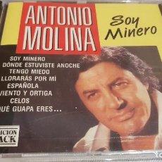 CDs de Música: ANTONIO MOLINA / SOY MINERO / CD - PERFIL / 10 TEMAS / PRECINTADO.. Lote 133826642