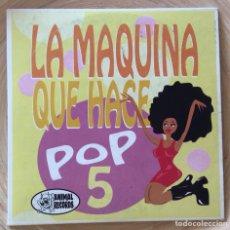 CDs de Música: LA MAQUINA QUE HACE POP 5. CD ANIMAL RECORDS ELEPHANT BAND ART SCHOOL LA RUTA. Lote 133831303