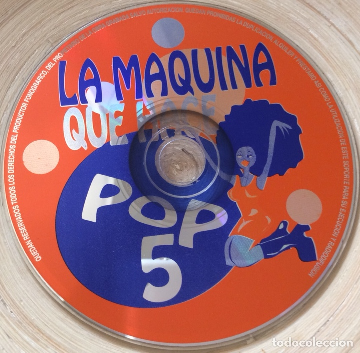 CDs de Música: LA MAQUINA QUE HACE POP 5. CD ANIMAL RECORDS ELEPHANT BAND ART SCHOOL LA RUTA - Foto 3 - 133831303
