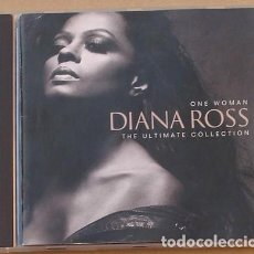 CDs de Música: DIANA ROSS - ONE WOMAN - THE ULTIMATE COLLECTION (CD) 1993 - 20 TEMAS. Lote 133831382