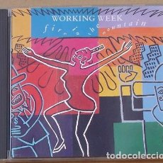 CDs de Música: WORKING WEEK - FIRE IN THE MOUNTAIN (CD) 1989 - 9 TEMAS - JULIE AND KEITH TIPPETT. Lote 133833082