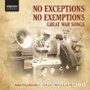 CDs de Música: VARIOS COMPOSITORES - GREAT WAR SONGS (2CD) ROBIN TRITSCHLER (TENOR). Lote 133845930