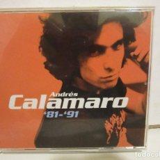 CDs de Música: ANDRES CALAMARO - 81-91 - 2 X CD + DVD - LIBRETO - 2001 - SPAIN EX+/EX+. Lote 133853878