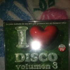 CDs de Música: 3 CDS I LOVE DISCO 3 TRANCE DANCE TECHNO ITALODISCO BAKALAO HOUSE MAKINA. Lote 133863894