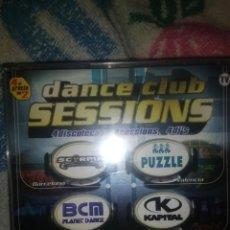 CDs de Música: 4 CDS DANCE CLUB SESSIONS SCORPIA PUZZLE KAPITAL TRANCE TECHNO ITALODISCO BAKALAO HOUSE MAKINA. Lote 133864438