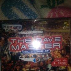 CDs de Música: 4 CDS THE RAVE MASTER VOL.2 LIVE AT PONT AERI TRANCE TECHNO ITALODISCO BAKALAO HOUSE MAKINA. Lote 133864686