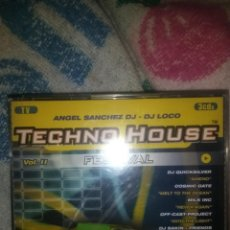 CDs de Música: 3 CDS TECHNO HOUSE FESTIVAL VOL.2 DJ LOCO TRANCE TECHNO ITALODISCO BAKALAO HOUSE MAKINA. Lote 133864866